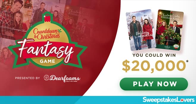 Hallmark Countdown to Christmas 2019 Fantasy Game
