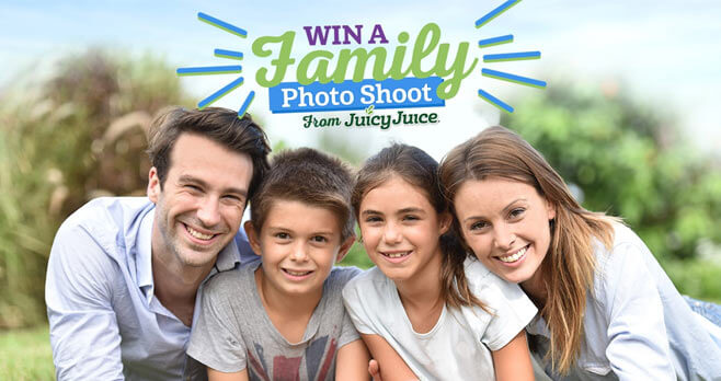 Juicy Juice Win A Family Photo Shoot Sweepstakes