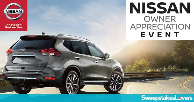 Nissan Owner Appreciation Event Sweepstakes 2019 (OwnerAppreciationEvent.com)