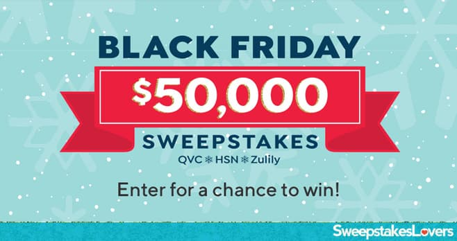 QVC Black Friday Sweepstakes 2019