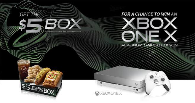 Taco Bell Xbox One X Contest (TacoBell.com/Xbox)