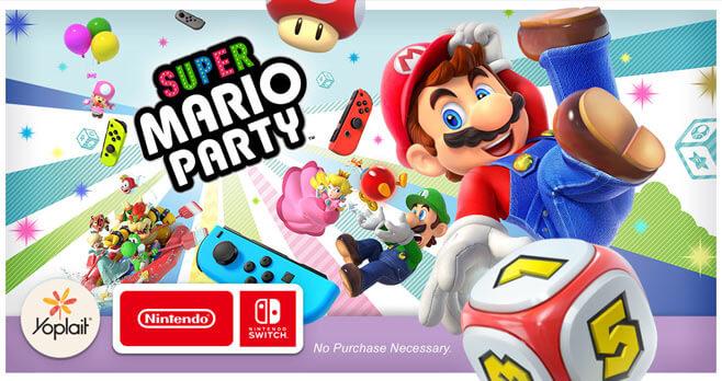 Yoplait Nintendo Instant Win Game (Yoplait.com/Nintendo)