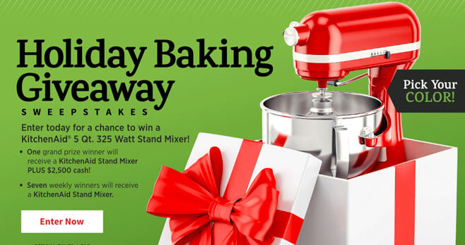 AllRecipes Holiday Baking Giveaway Sweepstakes