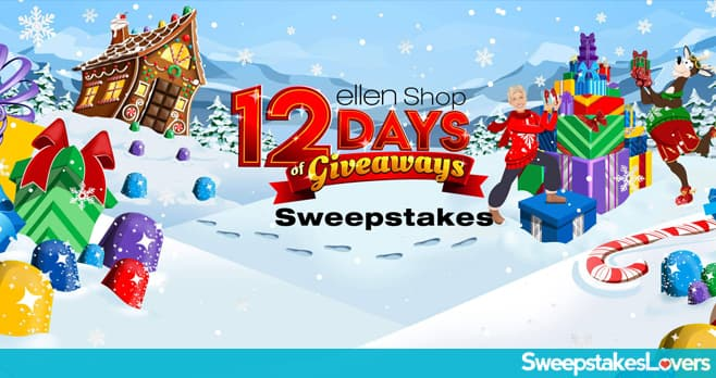 Ellen Shop 12 Days of Giveaways 2019 Sweepstakes