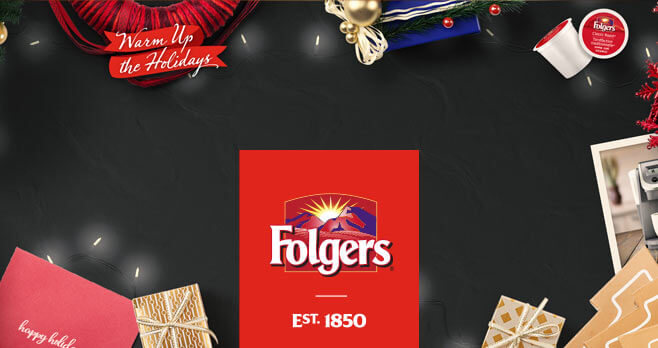 Folgers Wakin' Up Club Warm Up The Holidays Sweepstakes