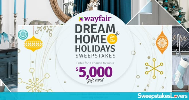HGTV & Wayfair Dream Home for the Holidays Sweepstakes