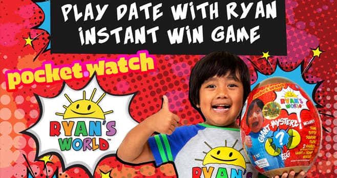 Play Date With Ryan Instant Win Game
