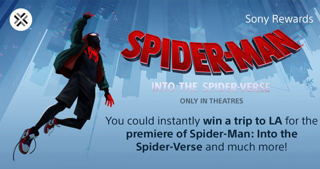 Spider-Man Into the Spider-Verse Giveaway