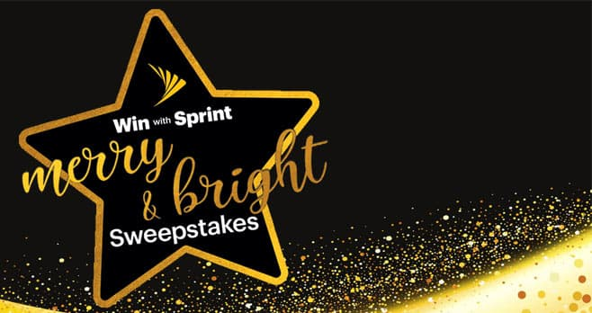 Sprint Merry And Bright Sweepstakes