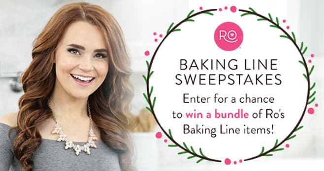 Wilton Happy Holidays Ro Baking Line Sweepstakes