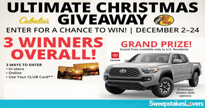 Bass Pro Shops Ultimate Christmas Giveaway 2019