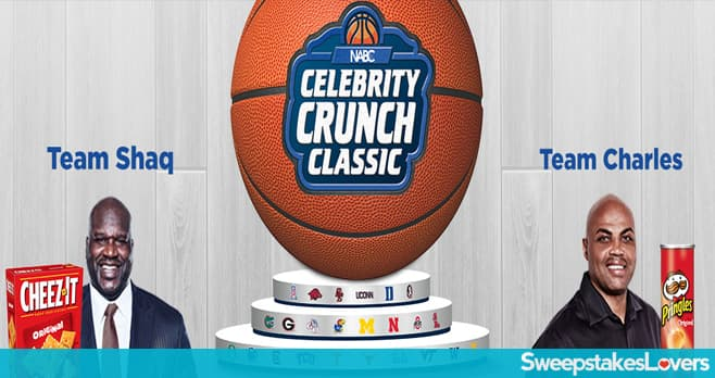 Celebrity Crunch Classic 2020 Sweepstakes