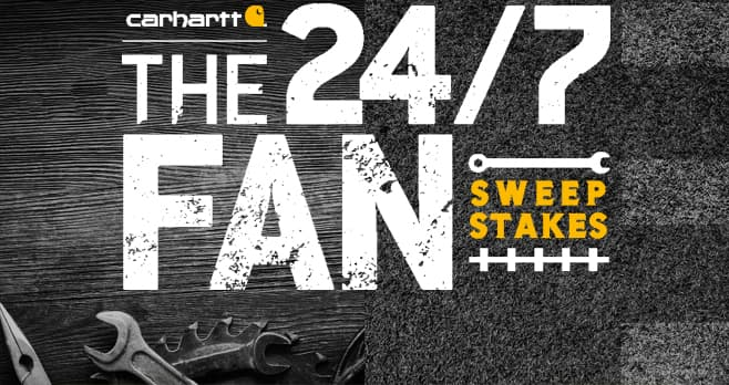ESPN Carhartt 24/7 Fan Sweepstakes
