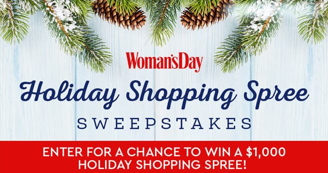 Woman's Day Holiday Cash Sweepstakes