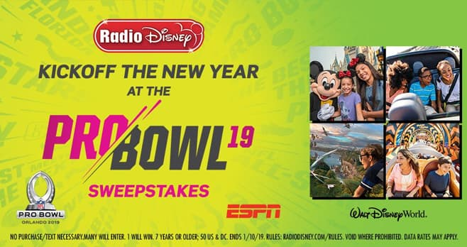 Radio Disney Kickoff the New Year at the NFL Pro Bowl