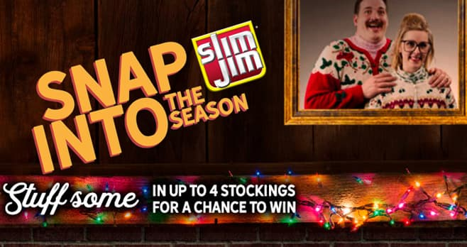 Slim Jim Snap Into The Season Sweepstakes