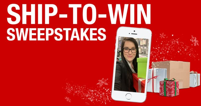 Staples Ship-to-Win Sweepstakes