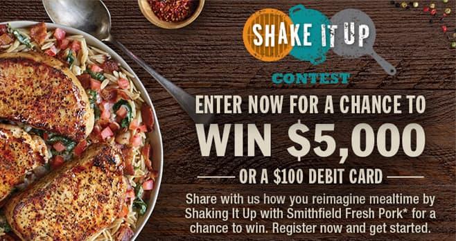 Smithfield Shake It Up Contest