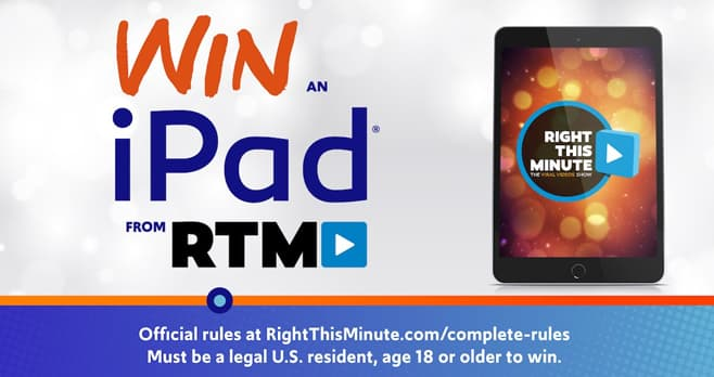 Right This Minute iPad Giveaway