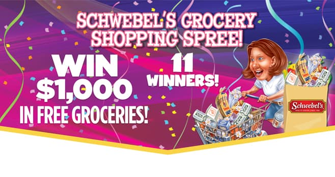 Schwebel's Grocery Shopping Spree Sweepstakes