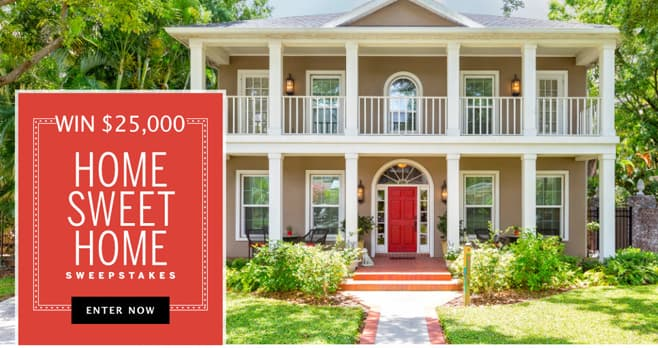 Southern Living Home Sweet Home $25,000 Sweepstakes