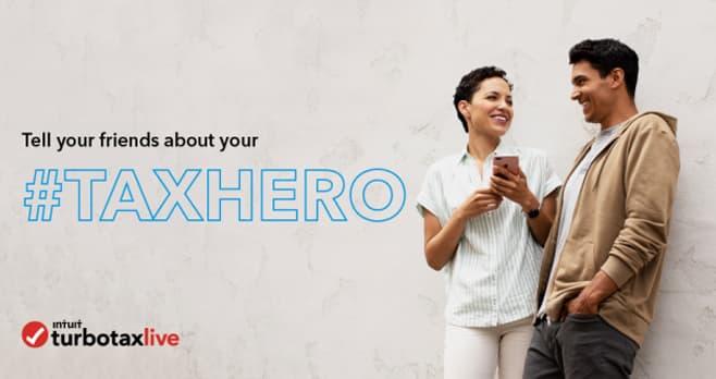 TurboTax #TaxHero Sweepstakes