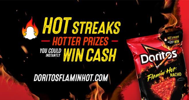 Doritos Flamin Hot Instant Win Game