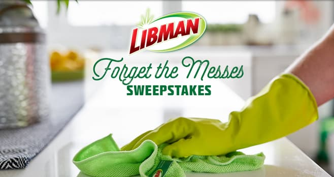 HGTV & Lidman Forget the Messes Sweepstakes (HGTV.com/ForgetTheMesses)