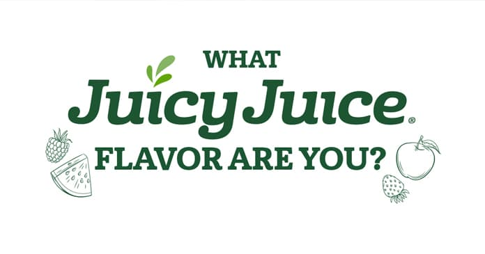 Juicy Juice What Juicy Juice Flavor Are You? Sweepstakes