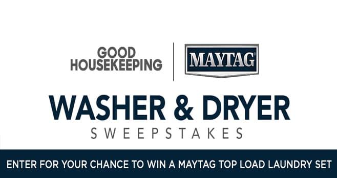 Good Housekeeping Washer & Dryer Sweepstakes