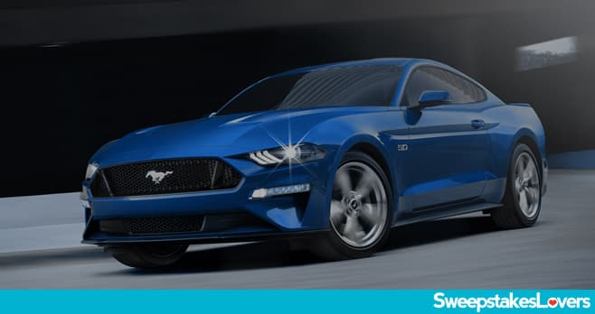 Ford Motorcraft Mustang 5.0 Fever Sweepstakes 2020