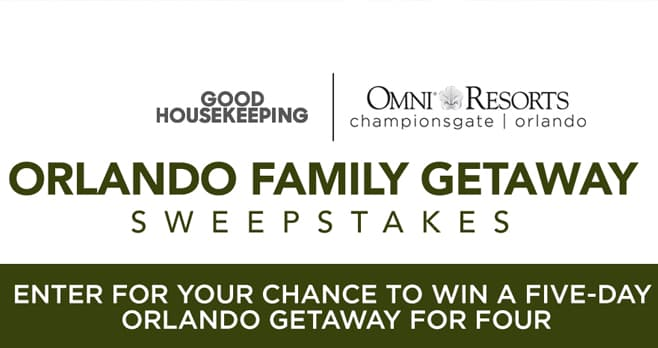 Good Housekeeping Omni Orlando Sweepstakes