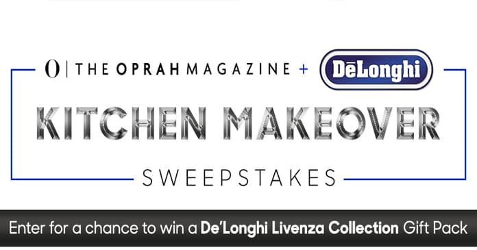 O, The Oprah Magazine's De'Longhi Livenza Collection Sweepstakes
