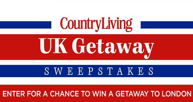 Country Living UK Getaway Sweepstakes
