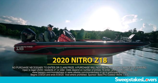 Bass Pro Shops Hunt For Monster Bass Sweepstakes 2020