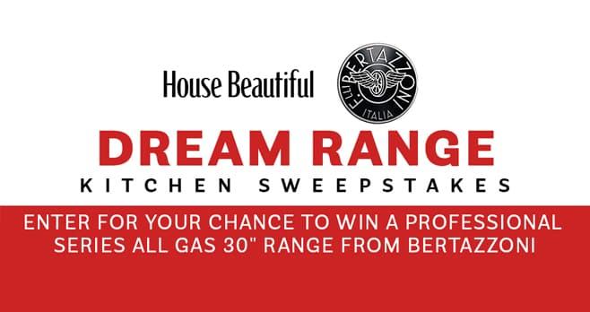 House Beautiful Bertazzoni Range Sweepstakes (Range.HouseBeautiful.com)