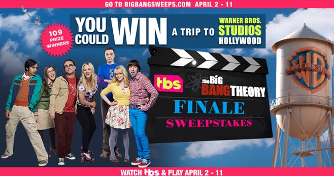Big Bang Theory Series Finale Sweepstakes