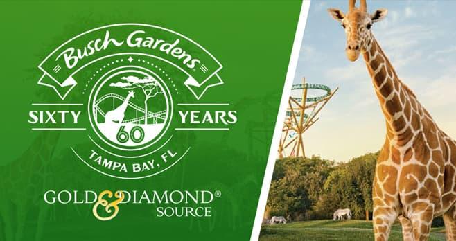 Busch Gardens 60th Celebration Giveaway