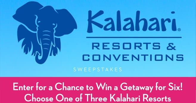 Good Housekeeping Kalahari Resort Sweepstakes