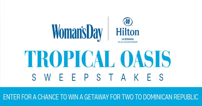 Woman's Day La Romana Getaway Sweepstakes (LaRomana.WomansDay.com)