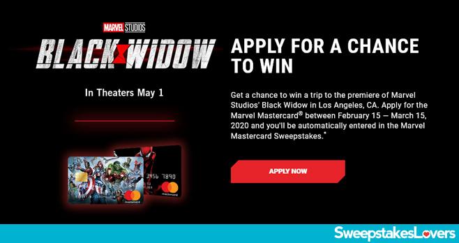 Marvel Mastercard Sweepstakes 2020