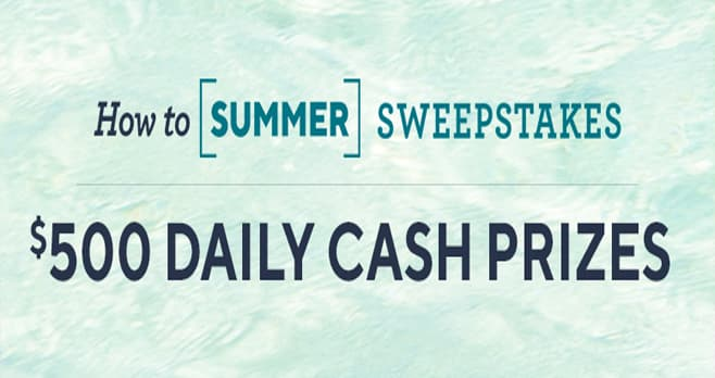 QVC How To Summer Sweepstakes (QVC.com/Sweepstakes)