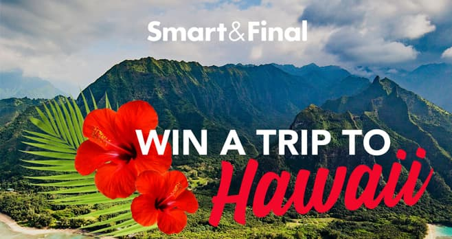 Smart & Final Escape the Cold Sweepstakes (SmartAndFinalEscapeTheCold.com)