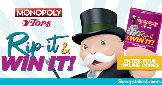 Tops Monopoly Online Game 2020