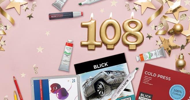 Blick Anniversary Trivia Sweepstakes