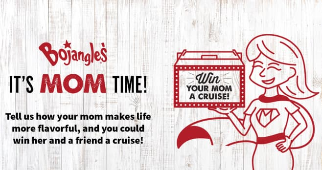 Bojangles Mother's Day Cruise Contest