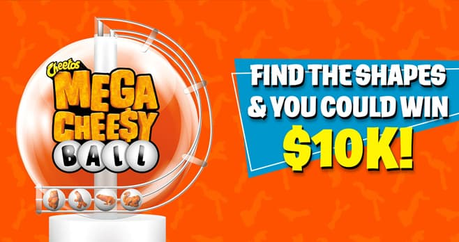 CHEETOS Cheesy Ball Shape Contest (CheetosCheesyBall.com)
