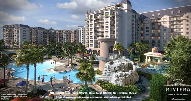 Disney Riviera Resort Sweepstakes (RivieraResortSweeps.com)
