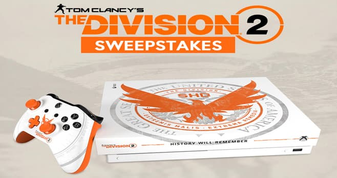 GameStop PowerUp Rewards Tom Clancy's The Division 2 Sweepstakes