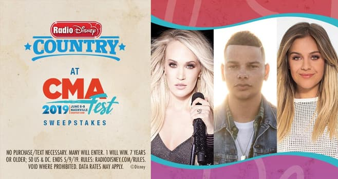 Radio Disney Country at CMA Fest Sweepstakes